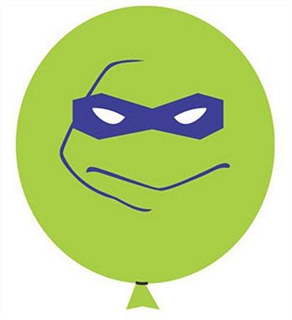 Balão / Bexiga Happy Day N11 | Tartarugas Ninja C/25