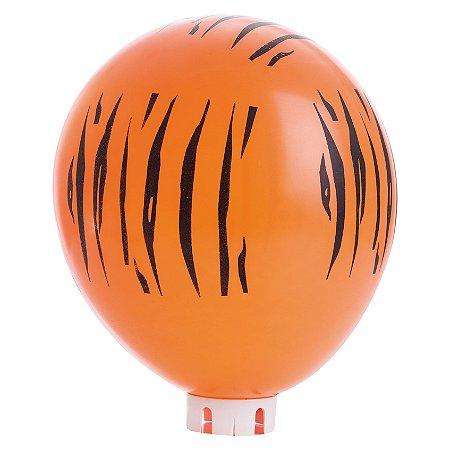 Balão / Bexiga Happy Day Nº11 | Listras de Tigre | C/25