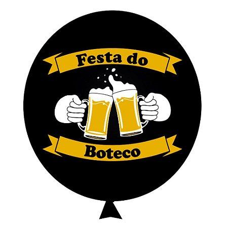 Balão / Bexiga Happy Day Nº11   Festa do Boteco   C/25
