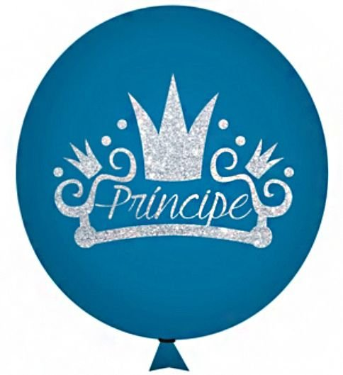 Balão / Bexiga Happy Day N11 | Reino Princípe Glitter C/12