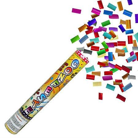 Lança Confetes Coloridos 30cm Mundo Bizarro