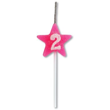 Vela Estrela Rosa Nº2 Alchester