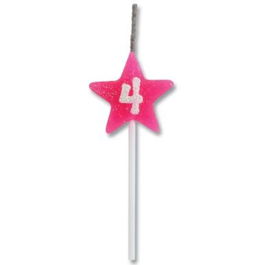 Vela Estrela Rosa Nº4 Alchester