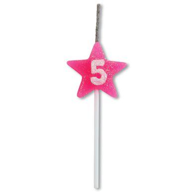 Vela Estrela Rosa Nº5 Alchester