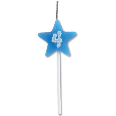 Vela Estrela Azul Nº4 Alchester
