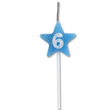 Vela Estrela Azul Nº6 Alchester