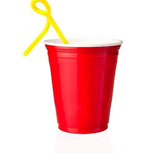 50 Unidades Red Cup Copos Americanos, Copo Vermelho | 400ml