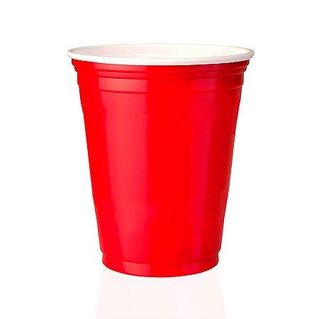 150 Unidades Red Cup Copos Americanos, Copo Vermelho | 400ml