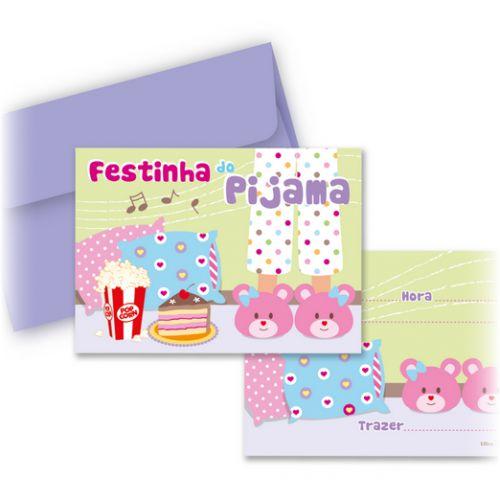 Ultra Convite Festa do Pijama C/8