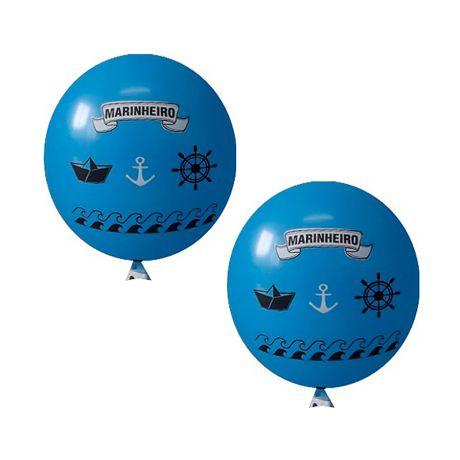 Balão / Bexiga Happy Day N11 | Marinheiro Azul Celeste C/25