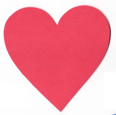 Aplique Coração em EVA Pequeno C/05
