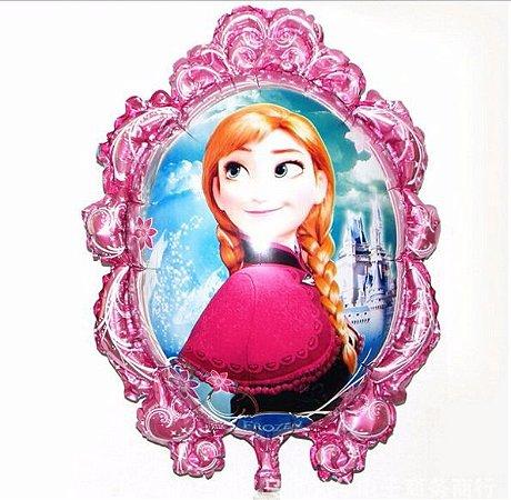 Balão Metal Princesa Do Gelo Pink