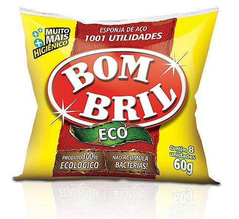 Lã de Aço BomBril Eco C/8 - 60g