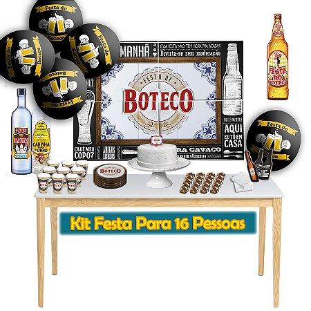 Kit Para Festa do Boteco - Para 16 Pessoas.