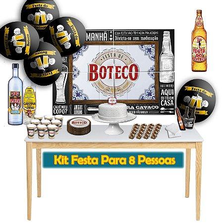 Kit Para Festa do Boteco - Para 8 Pessoas.