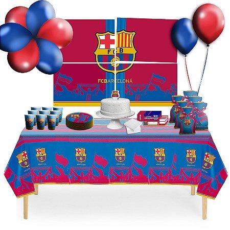 Kit para Festa Barcelona - Para 8 Pessoas.