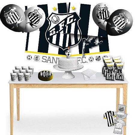 Kit para Festa Santos FC - Para 8 Pessoas.