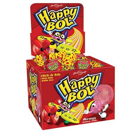 Chicle Happy Bol Morango 140 gr