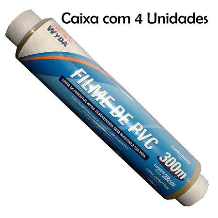 Caixa Filme PVC Wyda C/4 Unidades - 300m