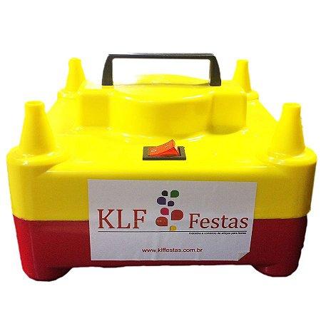 Inflador de Balões C/ 4 Bicos KLF - 220V