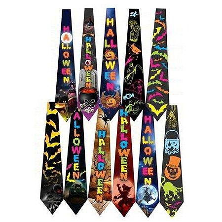 Gravata Neon Halloween C/10