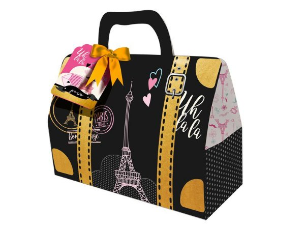 Caixa Surpresa Maleta  Paris C/08