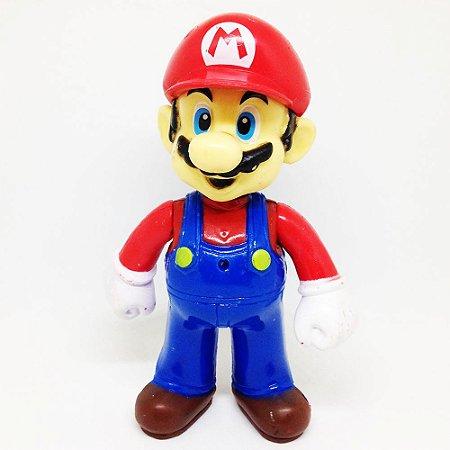 Boneco Super Mario Run Pequeno C/ LED