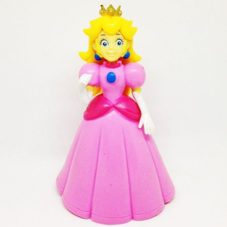 Boneco Princesa Peach - Super Mario Run