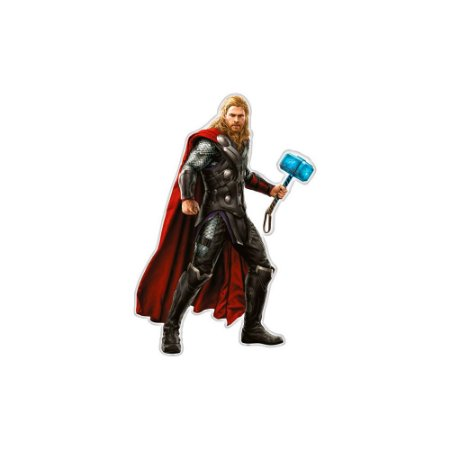 Personagem Decorativo Thor - Vingadores - 63,5cm