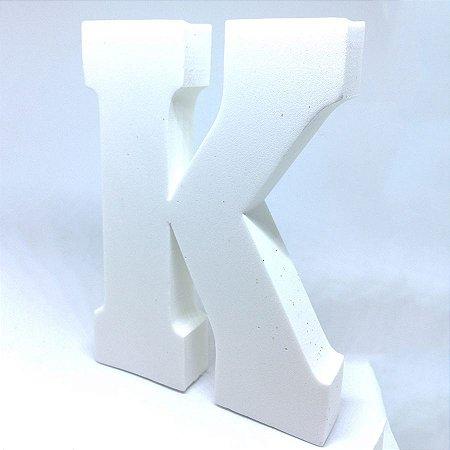Enfeite Letra ''K'' Provençal Luxo
