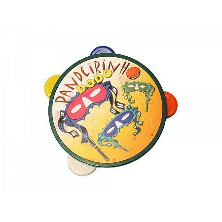 Mini Pandeiro de Brinquedo Dodo   16cm