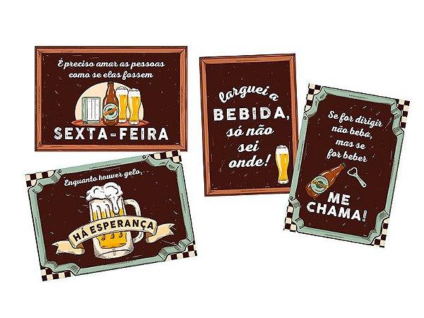 Cartaz Decorativo Festa do Boteco C/04
