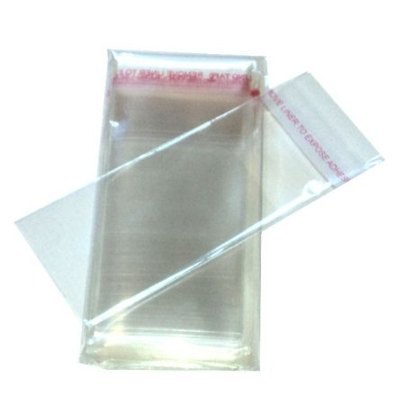 Embalagem Saco Adesivado Transparente 8,5X25cm C/100
