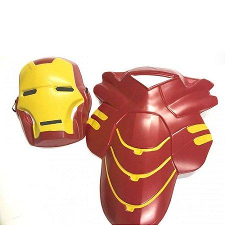 Kit Fantasia Homem de Ferro C/2