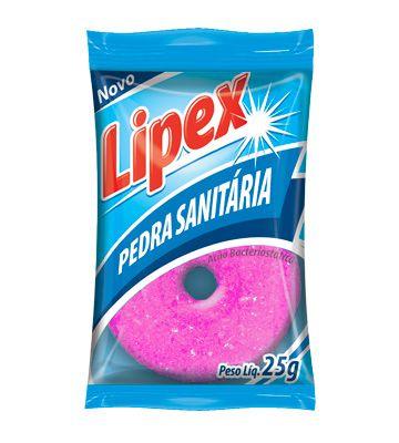 Pedra Sanitária Lipex Rosas