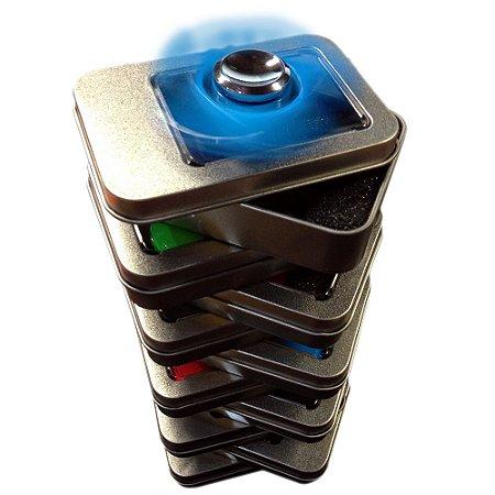 Hand Spinner Aço - Kit Atacado C/10