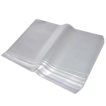 Saco Plástico Transparente   15x30   C/1kg