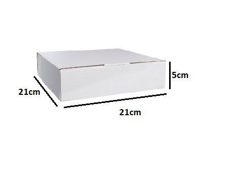 Embalagem para Salgado 21 x 21cm