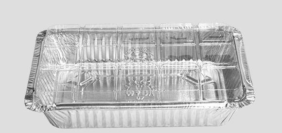 Bandeja  Alumínio Tampa Transparente D7 Wyda 750ml C/10