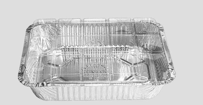 Bandeja  Alumínio Tampa Transparente D5 Wyda  1150ml C/10