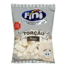Marshmallows Fini Torção Branco  250gr