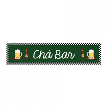 Faixa Cartonada Chá Bar