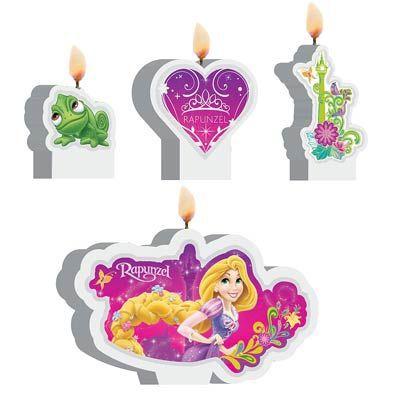 Kit Festa Rapunzel Decoração de Mesa
