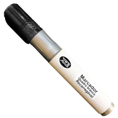 Marcador Quadro Branco Recarregável Preto