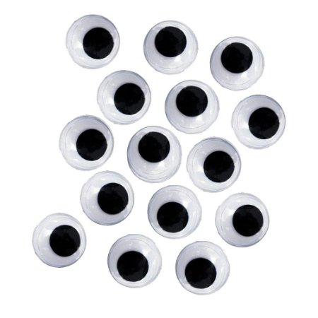 Kit Olhos Móveis Atacado 12mm C/4.000