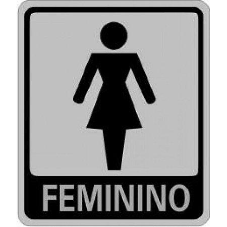 Placas Sinalizadoras Banheiro Feminino