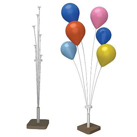 Suporte Para Balões Pequeno | 6 Varetas | 60cm
