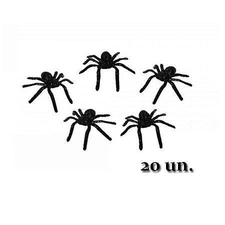 Mini Aranha Halloween C/20