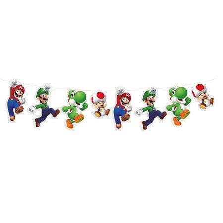 Faixa Decorativa Super Mario Personagens