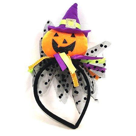 Tiara Abóbora de Chapéu Halloween